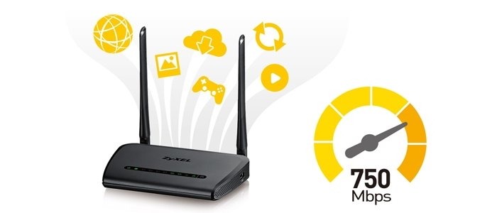 NBG6515 AC750 Dual-Band Wireless Gigabit Router