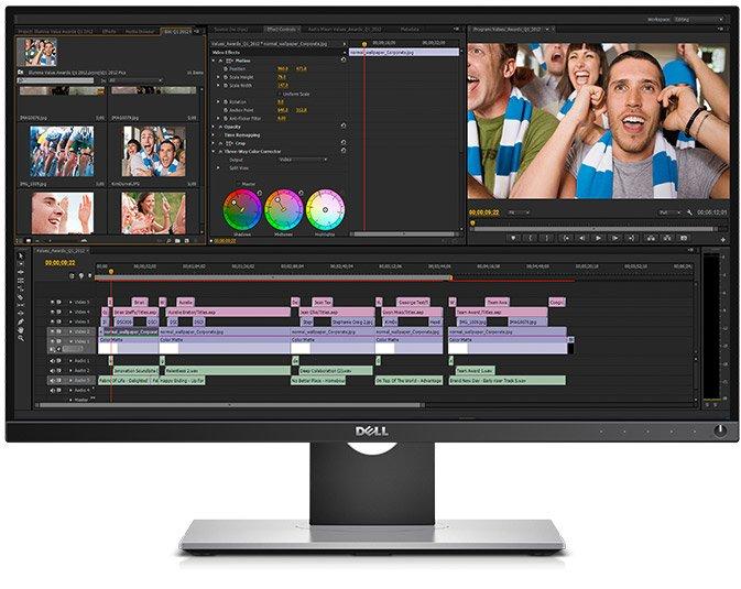 Dell UltraSharp 25 Monitor   UP2516D - Professional-grade color