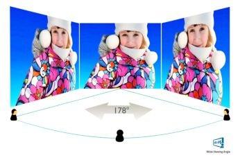 Технология IPS-ADS с широк ъгъл на гледане за точност на образа и цветовете