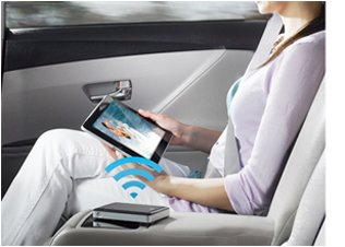 GoFlex satellite overview streaming in car