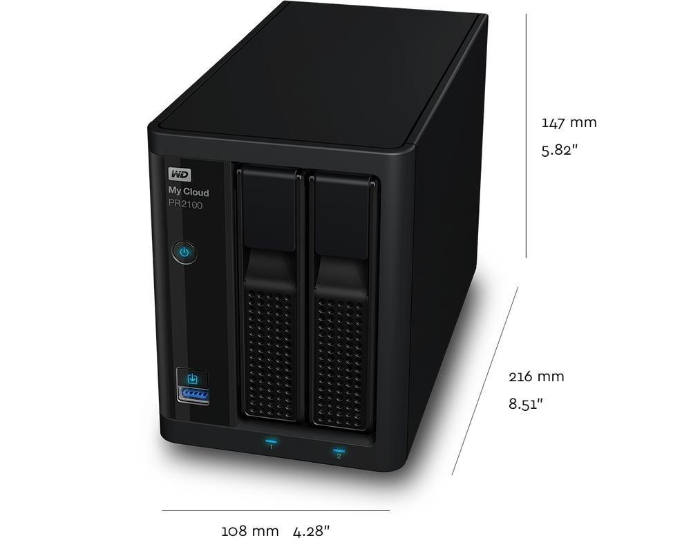 My Cloud Pro Series PR2100 | Tech Specs