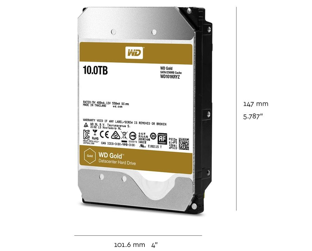 WD Gold Datacenter Hard Drive | Tech Specs