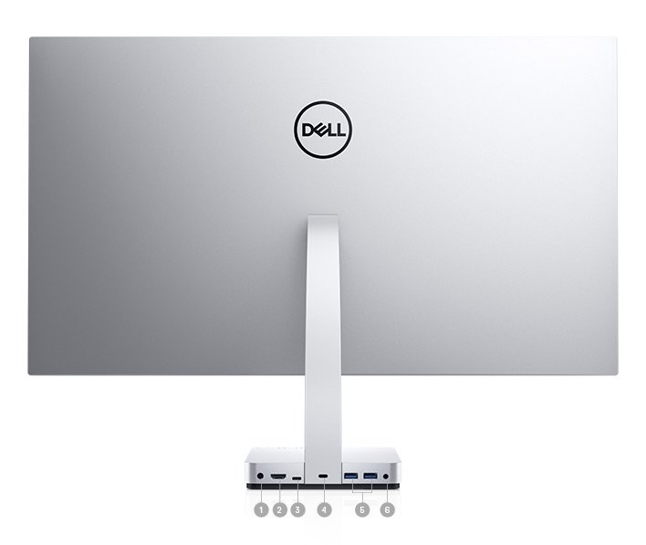Dell S2718D Monitor - Connectivity Options