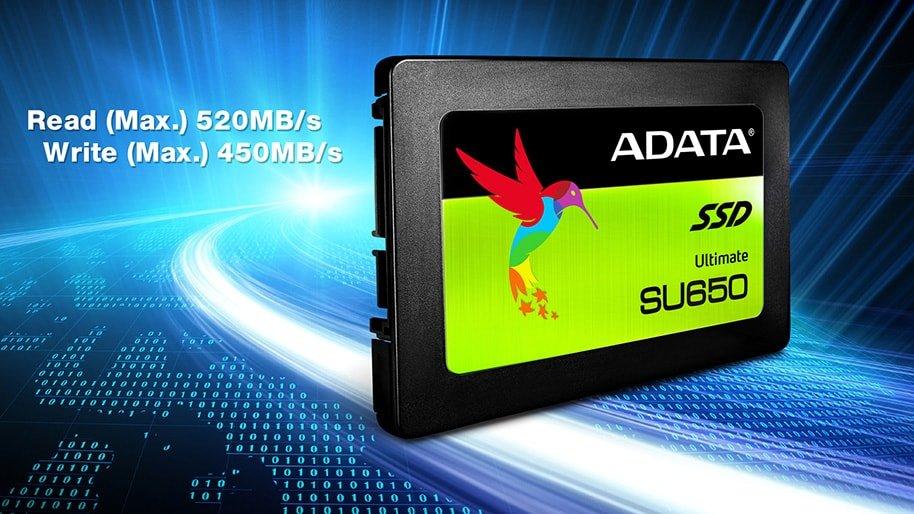 Adata 120GB, Ultimate SU650, SATA3, 2 5