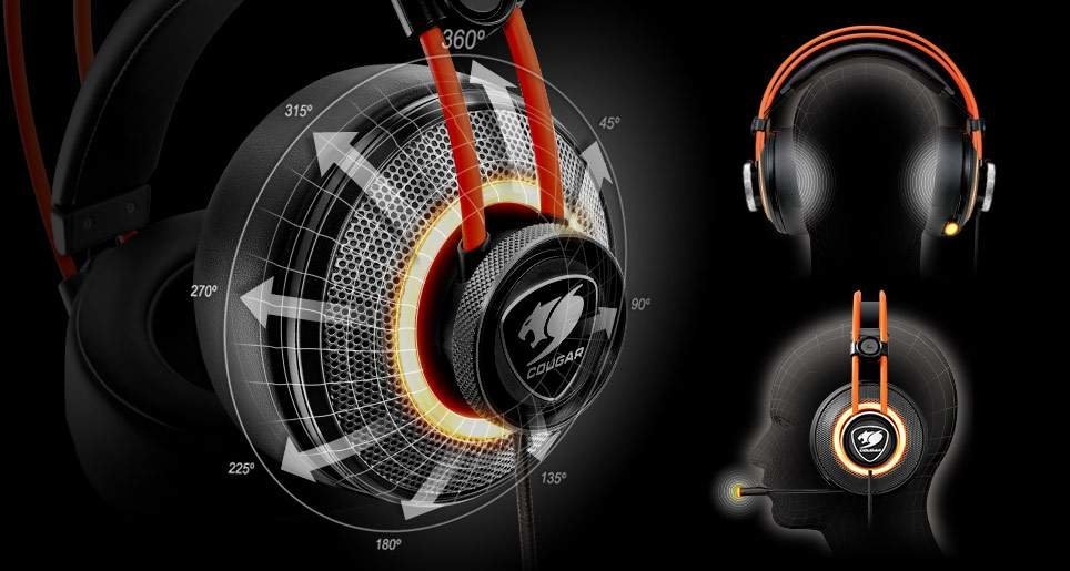 COUGAR IMMERSA PRO GAMING HEADSET
