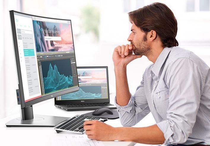 """Още по-продуктивни с монитор Dell 34"""" P3418HW"""