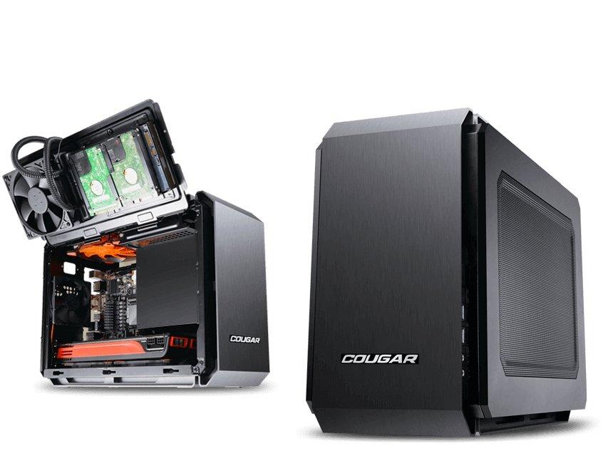 QBX - Ultra-Compact Pro Gaming Mini-ITX Case
