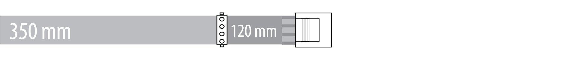 Peripheral 350 + 120 mm