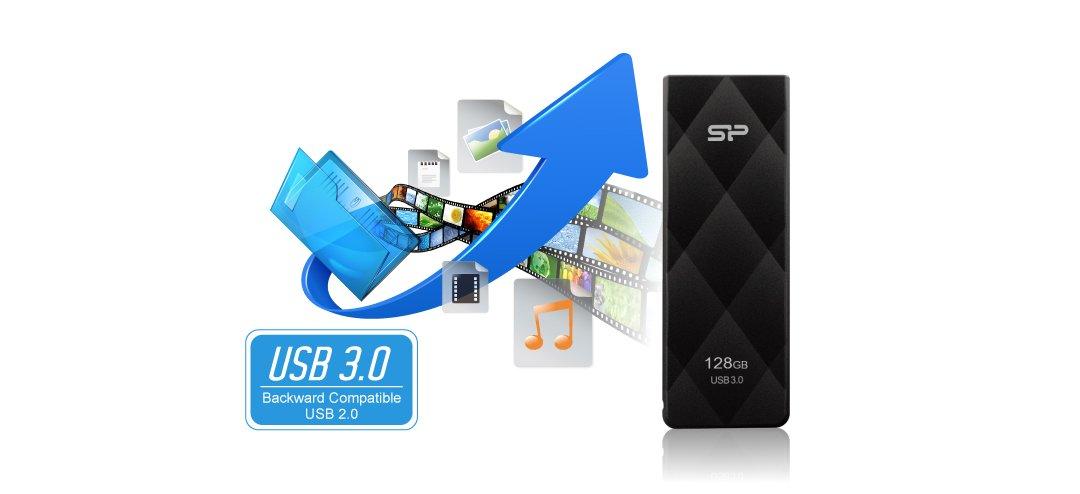 Blaze B20 SuperSpeed USB 3.1 Gen1 interface