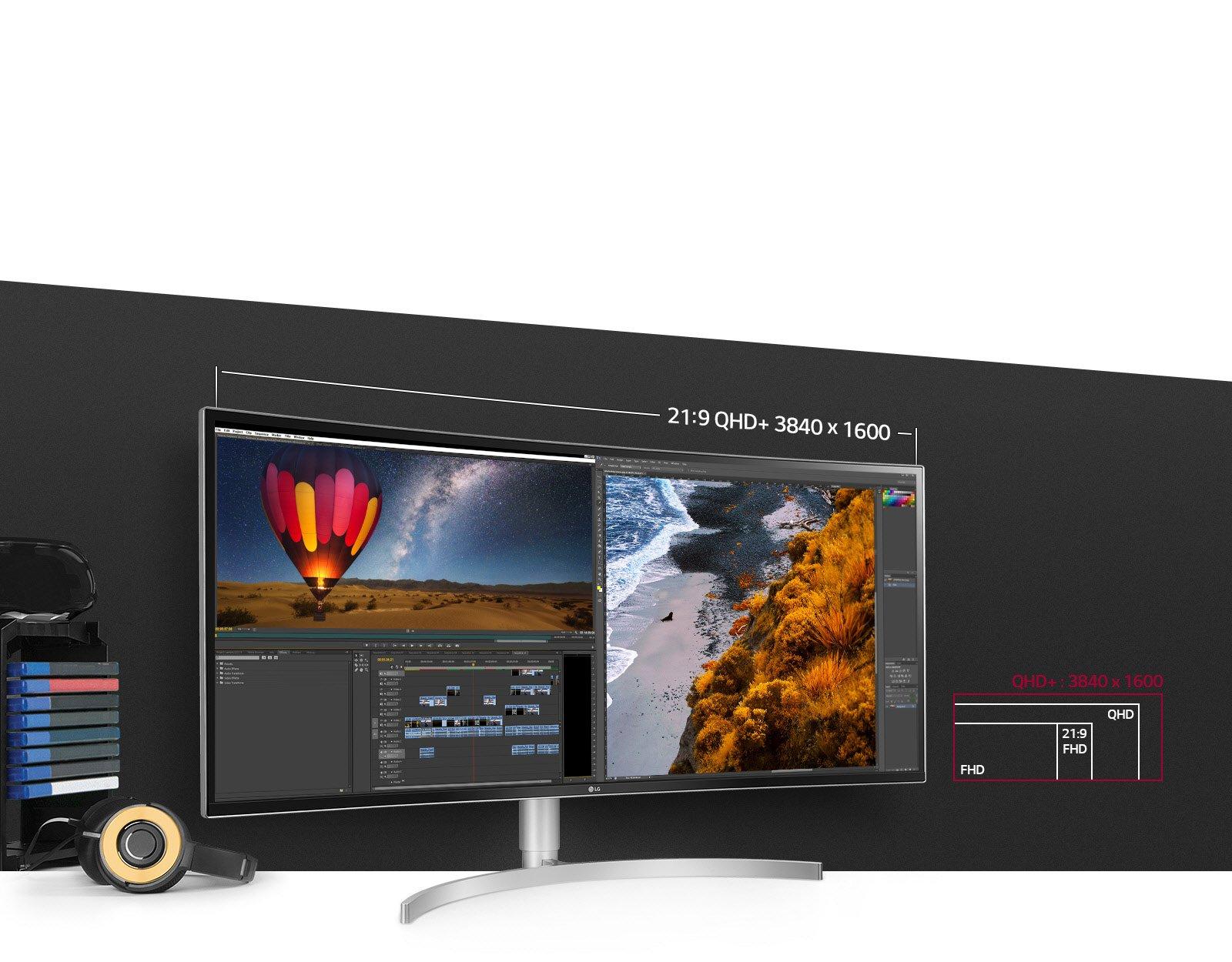 21:9 UltraWide® Display