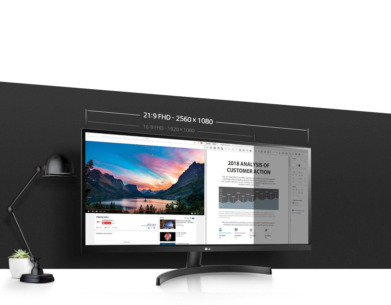 29WK500-P 21:9 UltraWide® Display