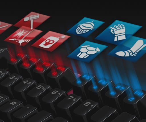 COUGAR ATTACK X3 RGB SPEEDY - RGB Backlit Mechanical Gaming Keyboard