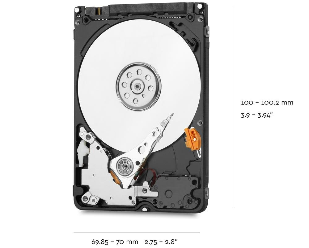 WD Blue Mobile Hard Drives | Tech Specs