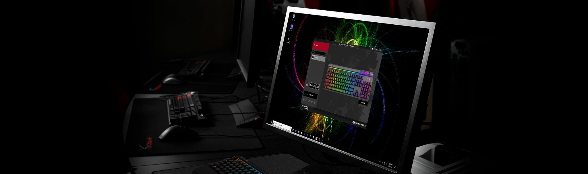 HyperX NGenuity software enables advanced customisation