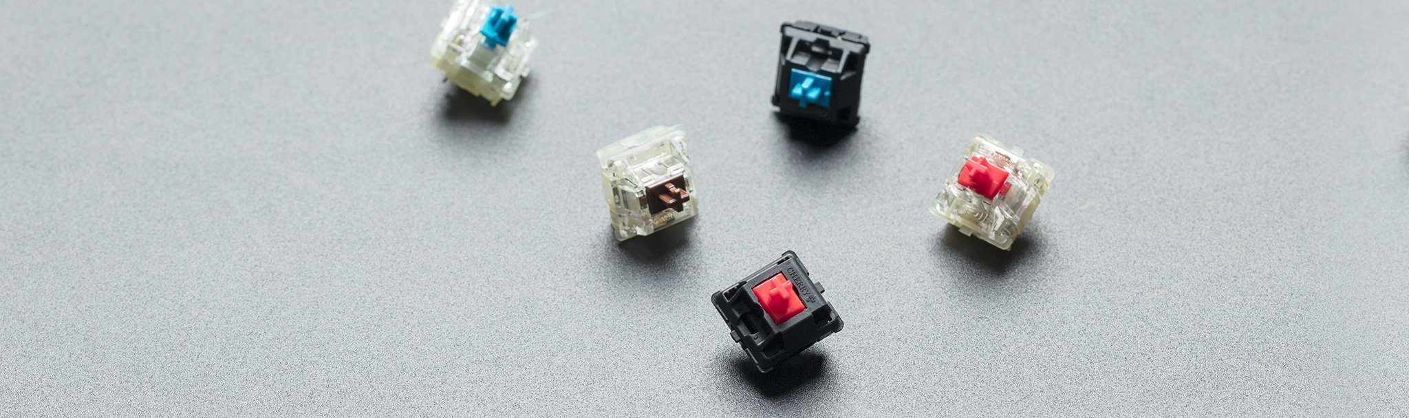 CHERRY® MX mechanical keyswitches for proven reliability