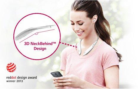 Ергономичен 3D NeckBehind™ дизайн