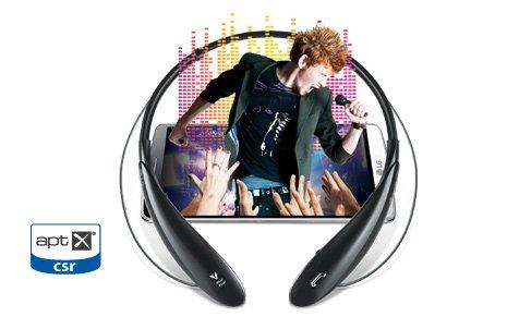 aptX® Lossless Audio Compatible (поддръжка на компресирани без загуби съдържания)