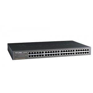 "TP-Link TL-SF1048, 48 10/100M RJ45 ports, 1U 19"" mountable case (снимка 1)"