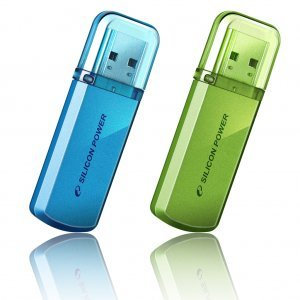 16GB, Silicon Power Helios 101, Aluminum Alloy Casing, Blue (снимка 1)