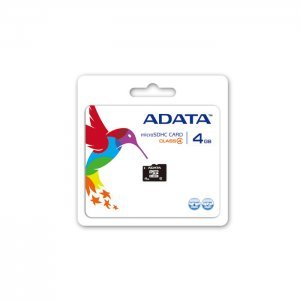 Secure Digital Card Micro 4GB, Adata, Class 4 (снимка 1)