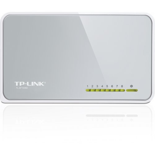 TP-Link TL-SF1008D, 8-port 10/100M mini Desktop Switch (снимка 1)