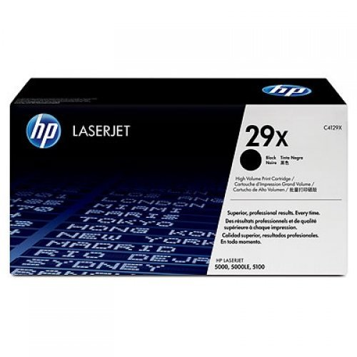 HP 29X, Тонер касета, ultraprecise print cartridge, black, maximum capacity , C4129X (снимка 1)