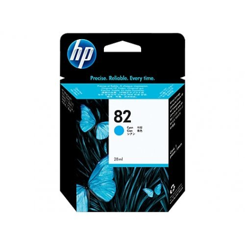 HP Мастилница 82 Cyan Ink Cartridge, C4911A (снимка 1)