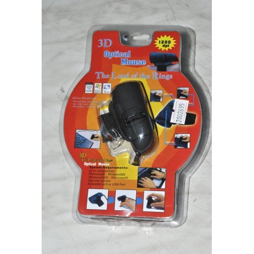 Мишка 3D Optical Finger Mouse 1200dpi The Lord Of The Rings - без опаковка (снимка 1)