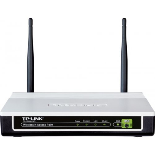 TP-Link TL-WA801ND, Wireless N Access Point, Atheros, 2T2R, 2.4GHz, 802.11n/g/b, Passive PoE Supported, QSS Push Button (снимка 1)