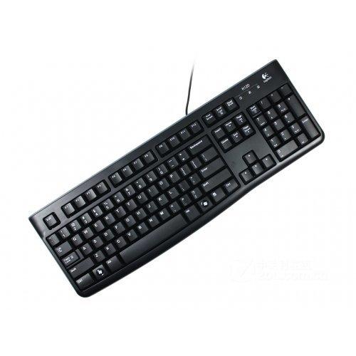 Клавиатура Logitech K120, USB, Black, с БДС (снимка 1)