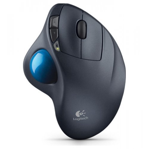 Тракбол Logitech Wireless Trackball M570, 2.4GHz, Tiny Nano USB Unifying receiver, Scroll wheel, Programble buttons (снимка 1)