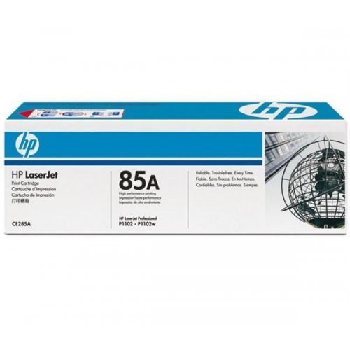 HP 85A, Тонер касета, LaserJet CE285A Black Print Cartridge (CE285A),CE285A (снимка 1)