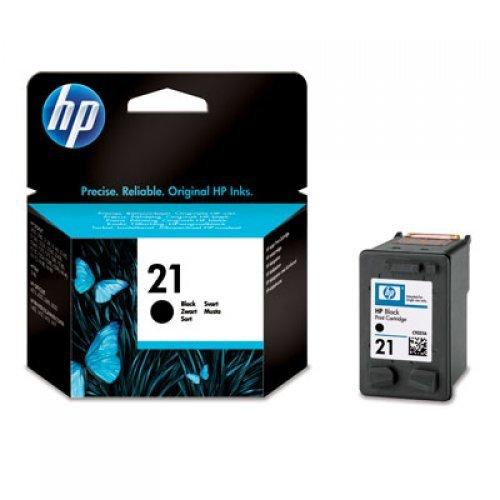 HP Мастилница No.21, Касета HP 21 с черно мастило, C9351AE, 5 ml (снимка 1)