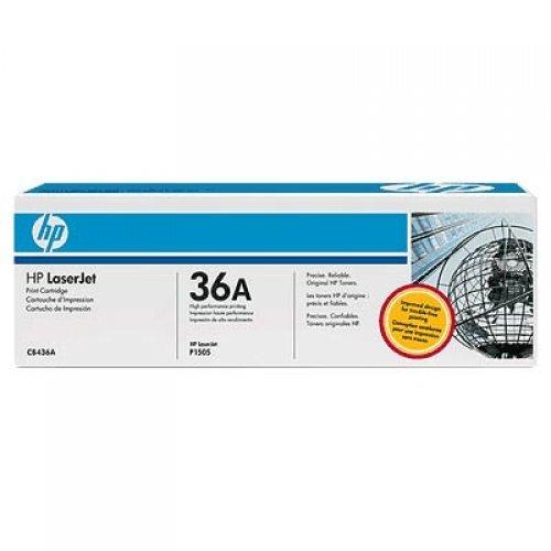 HP 36A, Тонер, Цвят: черен със Smart Printing Technology за HP LJ P1505/M1522/M1120, до 2,000 страници, CB436A (снимка 1)