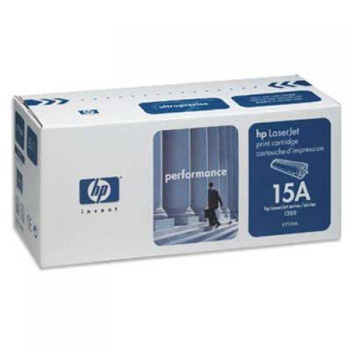 HP 15A, LaserJet C7115A Касета с черен тонер (C7115A), предназначен за използване с HP LaserJet 1000w/1005w/1200/1220/3300 printer series (снимка 1)