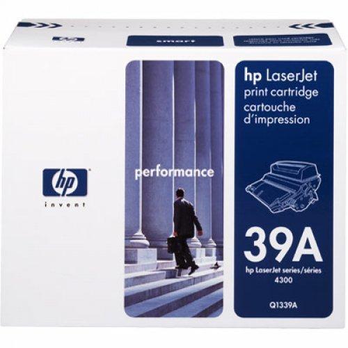HP 39A LaserJet Q1339A Касета с черен тонер (Q1339A) за HP LaserJet 4300 printer series. (снимка 1)