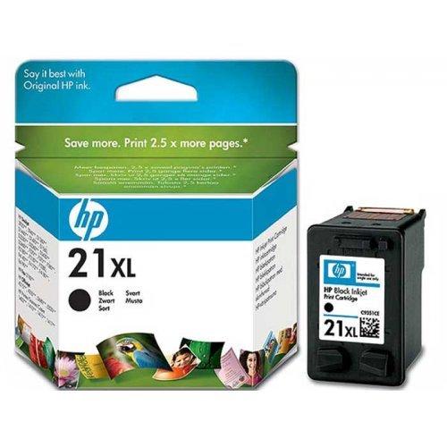 HP 21XL, Касета с мастило HP 21XL, цвят черен, C9351CE (снимка 1)