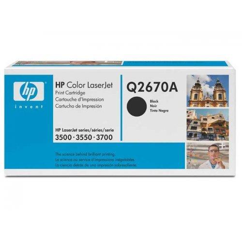 HP Color LaserJet Касета с черен тонер (Q2670A) (снимка 1)
