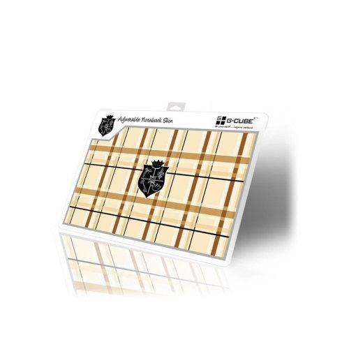 G-Cube Notebook Skin Sticker, Brown, GSE-17B Лепенка за лаптоп (снимка 1)