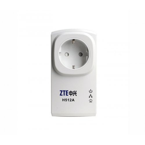 ZTE ZT-ZXHN-H512A, Mini Powerline KIT, 200Mbps, AC гнездо (снимка 1)