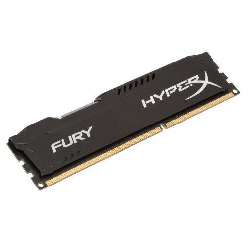 DDR3 8GB 1600MHz CL10 Hyper X Fury Black Kingston (снимка 1)