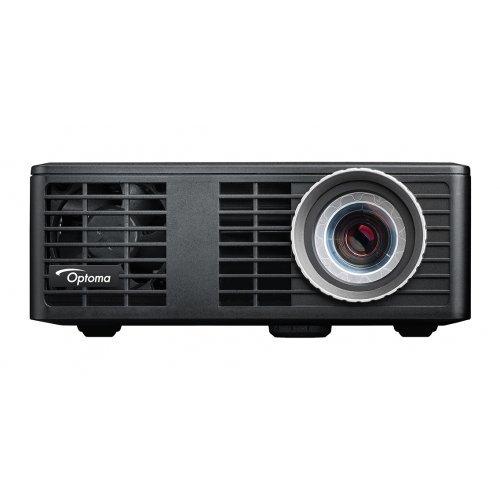 Optoma ML750e LED DLP Projector, WXGA (1280x800), 700 LED Brightness*, 15,000:1, HDMI + MHL v1.0, Universal I/O - VGA / Audio Out 3.5mm, microSD-slot, USB-A reader/wireless (снимка 1)