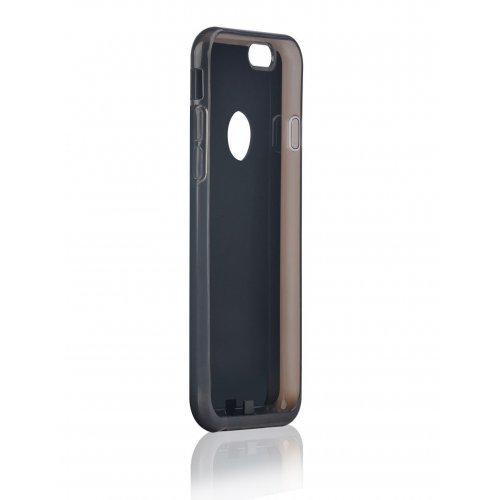 """Безжично зарядно , монтирано в капак за iPhone6 plus 5.5"""" Black (снимка 1)"""