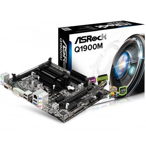 Дънна платка ASRock Q1900M, Intel Celeron (снимка 1)