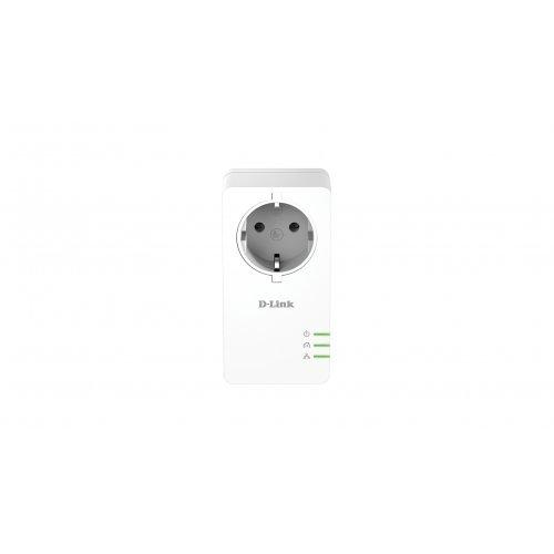 D-Link DHP-P601AV, PowerLine AV2 1000 HD Gigabit Passthrough Kit (снимка 1)