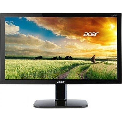 """Монитор Acer 21.5"""" KA220HQbid - UM.WX0EE.001, 1920x1080, TN LED, 5ms, 200cd/m2, VGA, DVI, HDMI, Black (снимка 1)"""