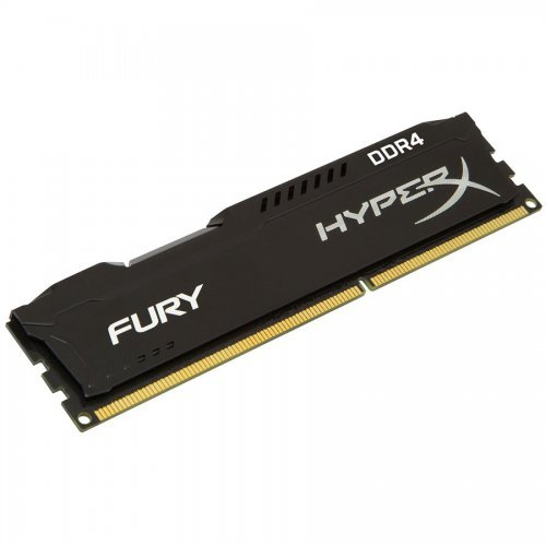 DDR4 8GB 2400MHz CL15 Hyper X Fury Black Kingston (снимка 1)