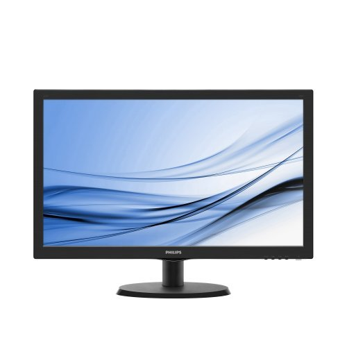 "Монитор Philips 21.5"" 223V5LSB2/10, 1920x1080 LED, 5ms, 200cd/m2, VGA, Black (снимка 1)"