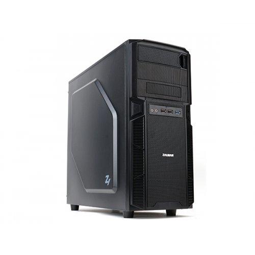Zalman Z1, ATX MID Tower, USB3.0, без захранване, Черна (снимка 1)