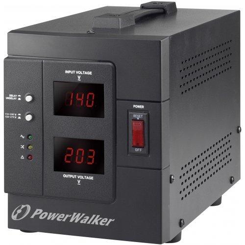UPS PowerWalker AVR 1500 SIV (Selectable Input Voltage), 1500VA/1200W, 2x Schuko outlets (снимка 1)